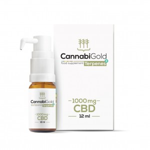 Olejek CBD Cannabigold Terpens+ 1000mg, 12ml