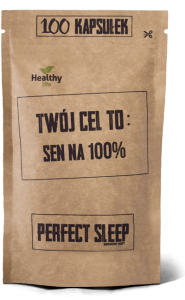 Perfect Sleep, Sen na 100%, Twój cel to, 100 kapsułek
