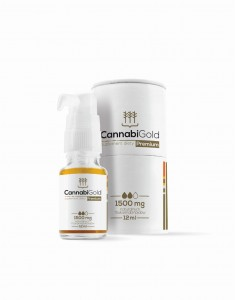 Olejek CBD CannabiGold Premium 1500mg, 12ml