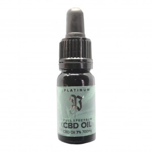 Olej CBD 7%, Cannabis Platinum, 10ml
