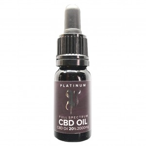 Olej CBD 20%, Cannabis Platinum, 10ml