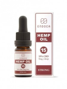 Olejek CBD 15%, Endoca, 10ml